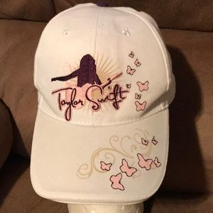 Taylor Swift hat with butterflies